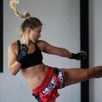 entrainement de boxe thai