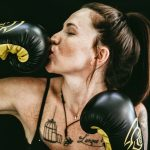 femme boxeuse